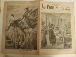 Journal Le Petit Parisien 418 7 Février 1897 Guérison De La Peste Asiatique Hopital D'Amoy Chine Yersin Suicide Tréport - Zeitungen