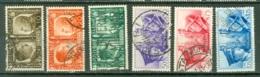 Italie    Michel  623/626  Ou  Sassone  452/457 Ob  TB - 1900-44 Vittorio Emanuele III