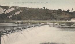 Waulsort  , Le Barrage Et Les Rochers De Fond Des Vaulx - Hastière
