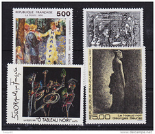 France 2692 2731 Tableaux 1991 Neuf ** TB MNH  Sin Charnela Faciale 3.05 - Neufs