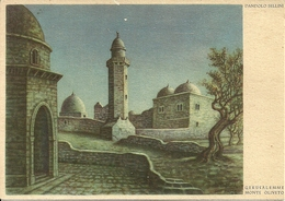 "Jerusalem (Gerusalemme, Israele) ""Monte Oliveto"" Di Dandolo Bellini - Israele"
