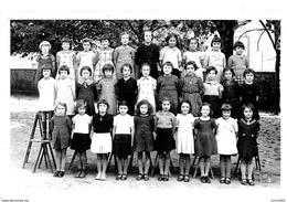 A Identifier. Cpa Photo De La Classe De Primaire De Jeanine à Drancy. - A Identifier