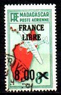 Madagascar France Libre  N° 54  Oblitéré  Cote : 3,00 Euro Cote 2015 - Madagascar (1889-1960)