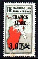 Madagascar France Libre  N° 53  Neuf X MH  Cote : 3,00 Euro Cote 2015 - Madagascar (1889-1960)