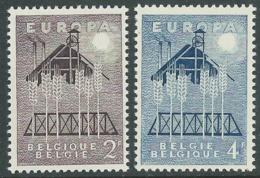 1957 EUROPA UNITA CEPT BELGIO MNH ** - F8 - Europa-CEPT