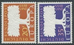 1957 EUROPA UNITA CEPT SARRE MNH ** - F8-2 - Europa-CEPT