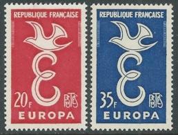 1958 EUROPA UNITA CEPT FRANCIA MNH ** - F8-3 - Europa-CEPT