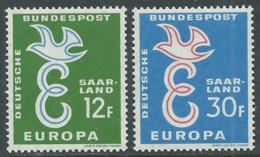 1958 EUROPA UNITA CEPT SARRE MNH ** - F8-3 - Europa-CEPT