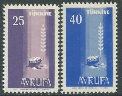 1958 EUROPA UNITA CEPT TURCHIA MNH ** - F8-3 - Europa-CEPT