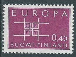 1963 EUROPA UNITA CEPT FINLANDIA MNH ** - F9 - Europa-CEPT