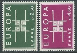 1963 EUROPA UNITA CEPT GRECIA MNH ** - F9 - Europa-CEPT