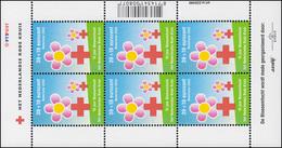 2002 Rotes Kreuz: Volksmarsch Bloesemtocht 2002 - Kleinbogen, Postfrisch ** - Niederlande