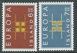 1963 EUROPA UNITA CEPT ISLANDA MNH ** - F9 - Europa-CEPT