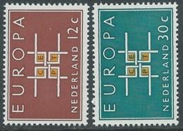 1963 EUROPA UNITA CEPT OLANDA MNH ** - F9-2 - Europa-CEPT