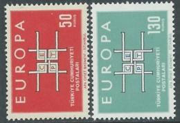 1963 EUROPA UNITA CEPT TURCHIA MNH ** - F9-3 - Europa-CEPT