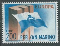 1963 EUROPA UNITA CEPT SAN MARINO MNH ** - F9-2 - Europa-CEPT