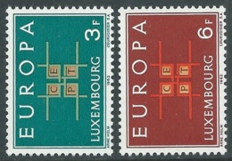 1963 EUROPA UNITA CEPT LUSSEMBURGO MNH ** - F9-2 - Europa-CEPT