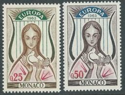 1963 EUROPA UNITA CEPT MONACO MNH ** - F9-2 - Europa-CEPT