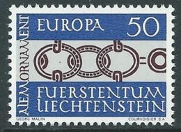 1965 EUROPA UNITA CEPT LIECHTENSTEIN MNH ** - F9-5 - Europa-CEPT