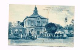Bourg-Léopold. Maison Communale Et Monument Du Souvenir.Vélo. Canon. - Leopoldsburg