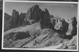 DOLOMITI - GRUPPO SELLA DA PASSO PORDOI - FORMATO PICCOLO - FOTO GHEDINA - NUOVA - Alpinisme