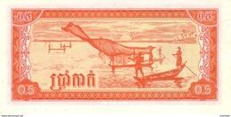 Cambodia - 0,5 Riel 1979 - Cambodge