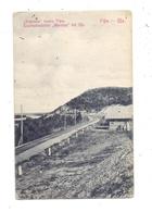 RU 450000 UFA, Eisenbahnstation Woronko, La Gare, 1914 - Russland