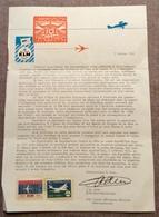 Anniversaire 40 Ans De La Compagnie KLM - Airmail