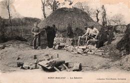 PONT-MELVEZ  -- Les Sabotiers - France