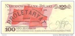"""100 Zlotych """" POLOGNE """" 1986 / NEUF - Pologne"""