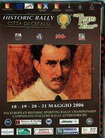 TROFEO FLORIO FIA EUROPEAN HISTORIC SPORTING RALLY 2006 ISCRITTI & PERCORSO - Sport