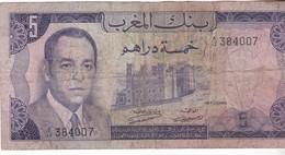 MAROC / 5 DIRHAMS 1970 - Marokko