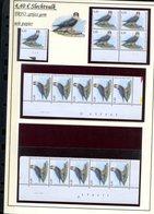 Belgie 3751 TRFO 2008  Buzin Vogels Birds Feuille De Collection Numéro De Planche Plaatnummer Drukdatum - 1985-.. Vogels (Buzin)
