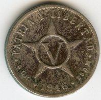 Cuba 5 Centavos 1946 KM 11.3 - Cuba