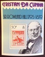 Tristan Da Cunha 1979 Rowland Hill Minisheet MNH - Tristan Da Cunha