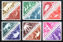 Tchad  Taxe : N° 23 à 34  Neuf X MH , Cote : 11,00 € - Chad (1960-...)