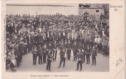 CPA Souvenir De Constantinople - Danse Aux Sabres - Asie Mineure - 1902 - Etat!! - Turquie