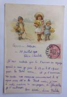 Kinder, Mode, Blumen, Gruß Aus Ostende,   1900  ♥  - Kinder