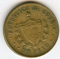Cuba 1 Peso 1983 KM 105 - Cuba