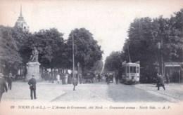 37 - Indre Et Loire -  TOURS - Avenue De Grammont - Coté Nord - Tours