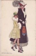 Mère Et Fille - Illustrateur MAUZAN - Mauzan, L.A.