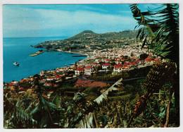 FUNCHAL  (MADEIRA)   VISTA  OESTE            (NUOVA ) - Madeira