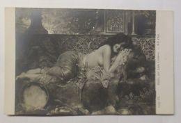 Künstlerkarte, Erotik, Haifa,par Leon Comerre, 1914 ♥  - Künstlerkarten