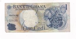 Ghana 1 Cedi 1967 - Ghana