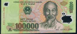 Vietnam P122 100..000 =100000 Dong 2016 Date 2016  Unc - Viêt-Nam
