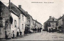 GRISOLLES --Route De Rocourt - France