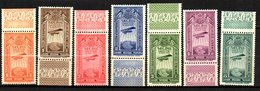 Ethiopie 1931 PA Avion Postal Addis Abéba  : N° 11 à 17  Neuf XX MNH - Ethiopia