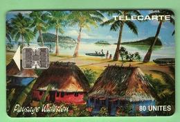WF4A FALE Paysage Wallisien *** SC7 *** Cote 140€ *** Les Scans Representent La Carte En Vente *** (A1-P11) - Wallis-et-Futuna