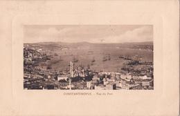 CPA De Constantinople - Vue Du Port - Asie Mineure - 1902 - Timbre Allemand 20 Para - état:coin Droit Corné - Turquie