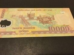 Vietnam P119 10.000 =10000 Dong 2017 Date 2017 Unc - Vietnam